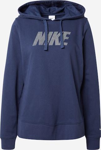 mėlyna NIKE Sportinio tipo megztinis