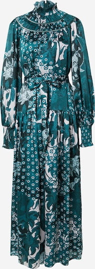 Ted Baker Šaty 'Anafia' - petrolejová / smaragdová / biela, Produkt