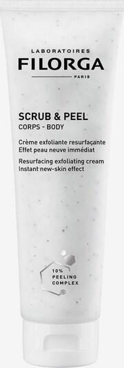 Filorga Körperpeeling 'Scrub & Peel' in schwarz / weiß, Produktansicht