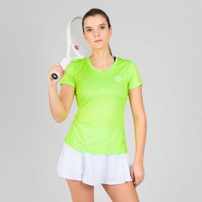 BIDI BADU T-Shirt Eve in tailliertem Schnitt in grün: Frontalansicht
