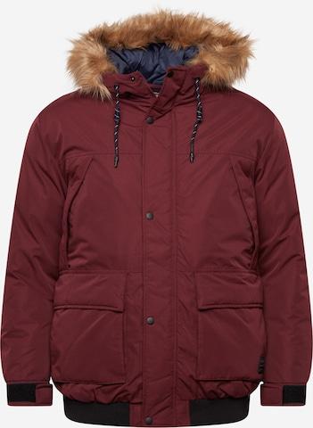Jack & Jones Plus Between-Season Jacket in Red