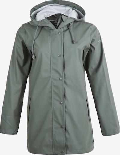 Weather Report Regenmantel 'PETRA W RAIN JACKET' in grün, Produktansicht
