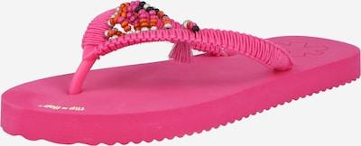 FLIP*FLOP Iešļūcenes ar pirkstu atdalītāju oranžs / rozā / melns / balts, Preces skats