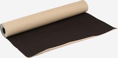 bahé yoga Mat in de kleur Taupe / Zwart, Productweergave