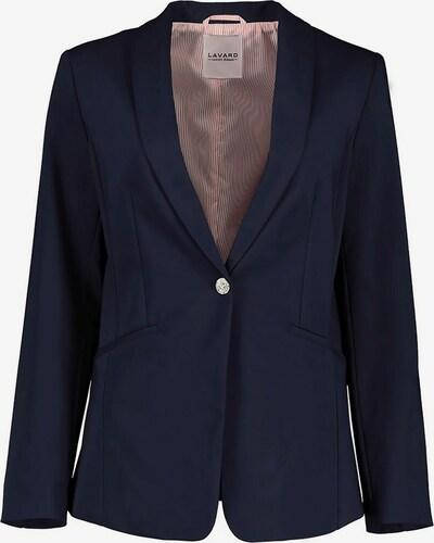 Lavard Blazer aus angenehmem Stoff mit einem Zusatz von Baumwolle in dunkelblau, Produktansicht