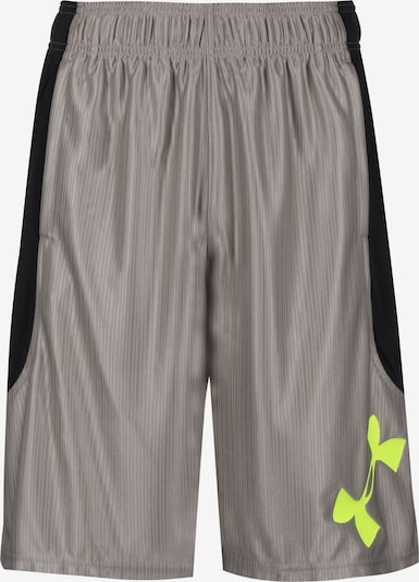 UNDER ARMOUR Perimeter Basketballshort Herren in grau, Produktansicht