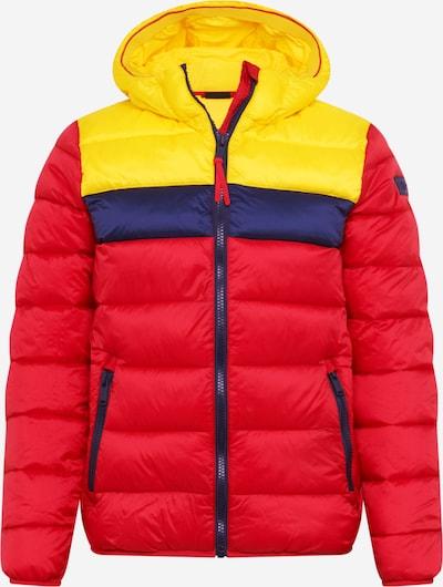 CMP Outdoorjas in de kleur Navy / Geel / Rood, Productweergave