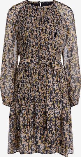 SET Kleid in gelb / lachs / schwarz, Produktansicht