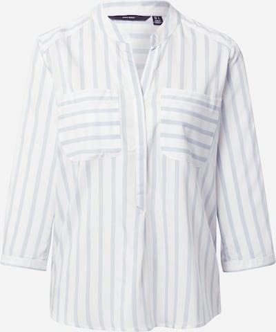 VERO MODA Μπλούζα 'Erika' σε γαλάζιο / λευκό, Άποψη προϊόντος