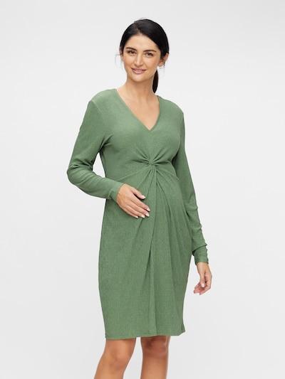MAMALICIOUS Kleid 'Alvira' in grasgrün, Modelansicht