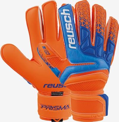 REUSCH Sporthandschoenen 'Prisma Prime G3' in de kleur Blauw / Sinaasappel / Wit, Productweergave