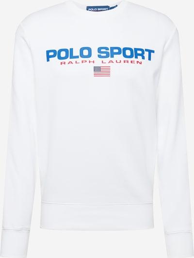POLO RALPH LAUREN Sweatshirt in royalblau / rot / weiß, Produktansicht