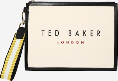 Ted Baker Kopertówka w kolorze pastelowo-żółty / ciemnoczerwony / czarnym, Podgląd produktu