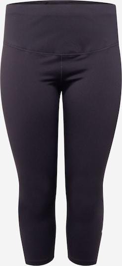 NIKE Pantalon de sport 'One' en noir / blanc, Vue avec produit