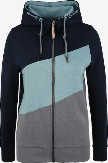 Oxmo Sweatjacke 'Aggi' in blau, Produktansicht