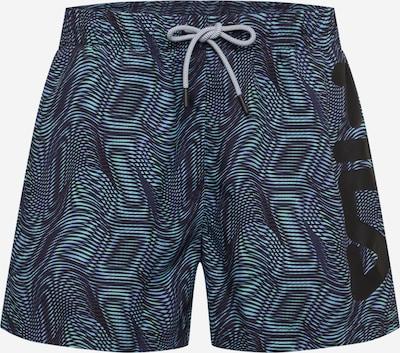 FILA Plavecké šortky 'MICHI' - modrá / nefritová / černá, Produkt