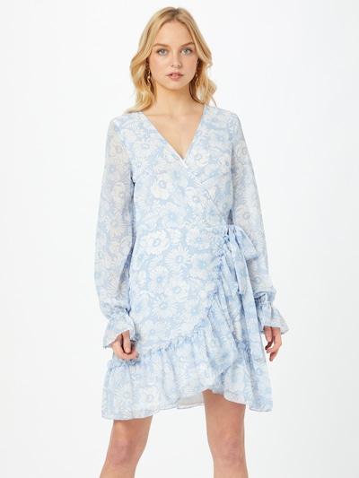 Gina Tricot Kleid 'Julianna' in hellblau / weiß, Modelansicht