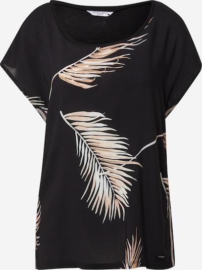 Tricou 'Tracy' ZABAIONE pe bej / negru / alb, Vizualizare produs