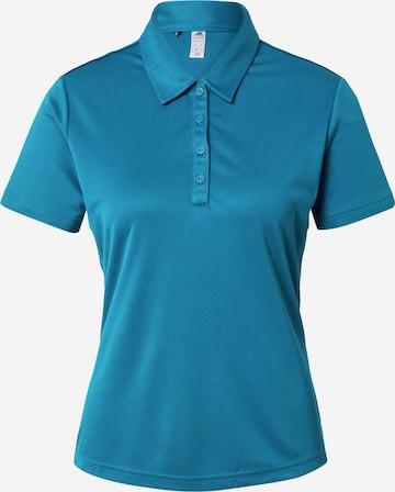 adidas Golf Koszulka funkcyjna w kolorze niebieski