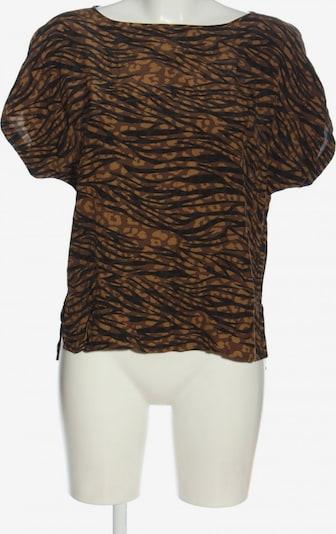 YAYA Kurzarm-Bluse in S in braun, Produktansicht