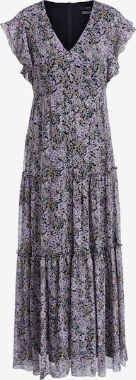 SET Sukienka w kolorze ciemnozielony / fioletowy / morelowy / czarnym, Podgląd produktu