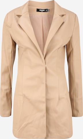 Missguided Tall Blazer i beige