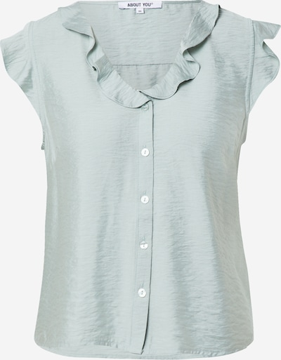 ABOUT YOU Blouse 'Lina' in de kleur Mintgroen, Productweergave