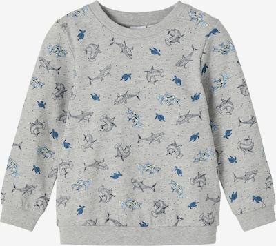 NAME IT Sweatshirt 'VILDAR' in navy / hellblau / gelb / grau / rauchgrau, Produktansicht