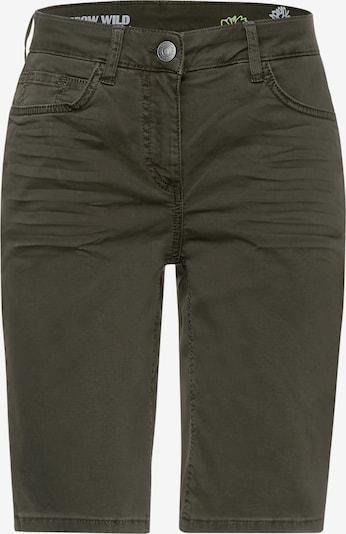 CECIL Pantalón en verde oscuro, Vista del producto