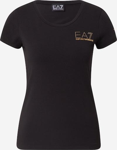 EA7 Emporio Armani T-shirt en noir, Vue avec produit
