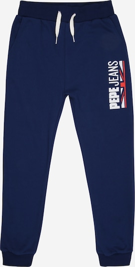 Pepe Jeans Pantalon 'JONAH' en bleu marine / melon / blanc, Vue avec produit