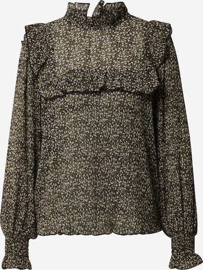 Sofie Schnoor Bluse in beige / dunkelgelb / schwarz, Produktansicht