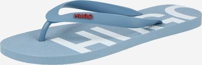 HUGO Žabky 'Onfire' - dymovo modrá / tmavočervená, Produkt