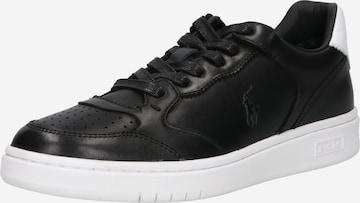 Sneaker low de la Polo Ralph Lauren pe negru