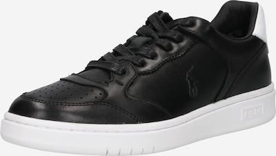 Polo Ralph Lauren Sneaker in schwarz / weiß, Produktansicht