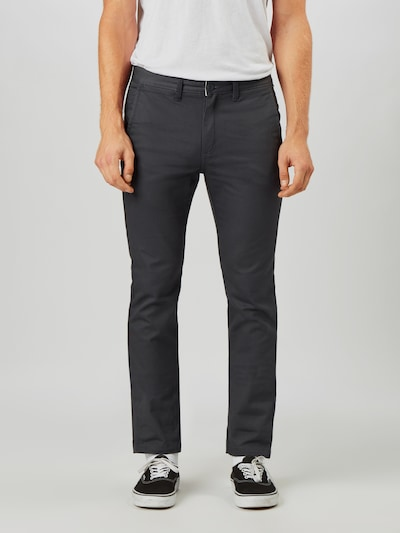 VANS Pantalon chino en graphite, Vue avec modèle