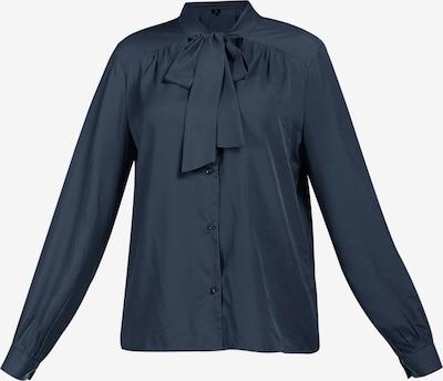 DreiMaster Klassik Bluse in marine, Produktansicht