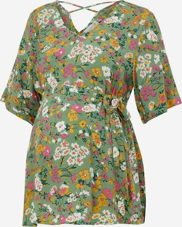 Camicia da donna 'Levetta' di MAMALICIOUS in verde