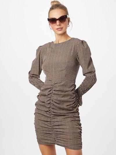 Missguided Kleid in beige / braun, Modelansicht
