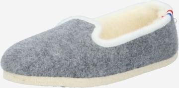 espadrij l´originale Hausschuh 'Chalet' i grå
