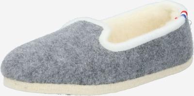 espadrij l´originale Hausschuh 'Chalet' in creme / graumeliert, Produktansicht