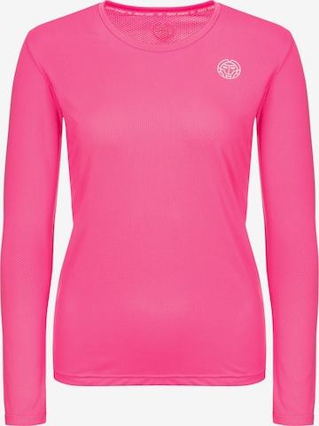 BIDI BADU Longsleeve 'Mina' in Pink