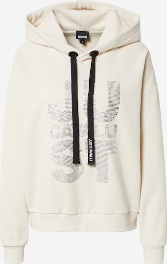 Just Cavalli Sweatshirt in Beige / Black / Silver, Item view