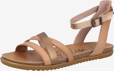 Blowfish Malibu Strap Sandals in Brown / Gold, Item view