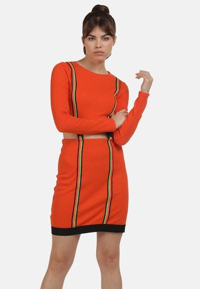 myMo ATHLSR Kleid in mischfarben / hummer, Modelansicht