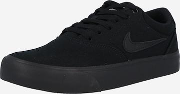 Nike SB Σνίκερ χαμηλό 'Chron' σε μαύρο