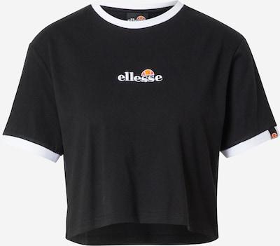 ELLESSE T-shirt i svart / vit, Produktvy