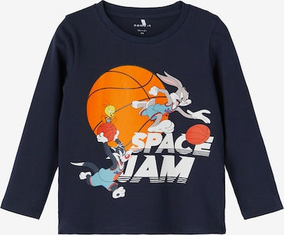 NAME IT Shirt 'Space Jam Arne' in Sapphire / Mixed colours, Item view