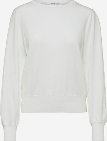 SELECTED FEMME Sweater in White