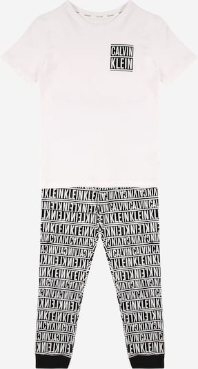 Calvin Klein Underwear Schlafanzug in schwarz / weiß, Produktansicht
